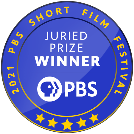 """The """"Juried Prize"""" Laurel for the 2021 PBS Short Film Festival"""